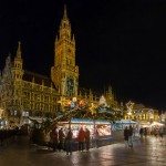 Christmas market in Marienplatz, Munich